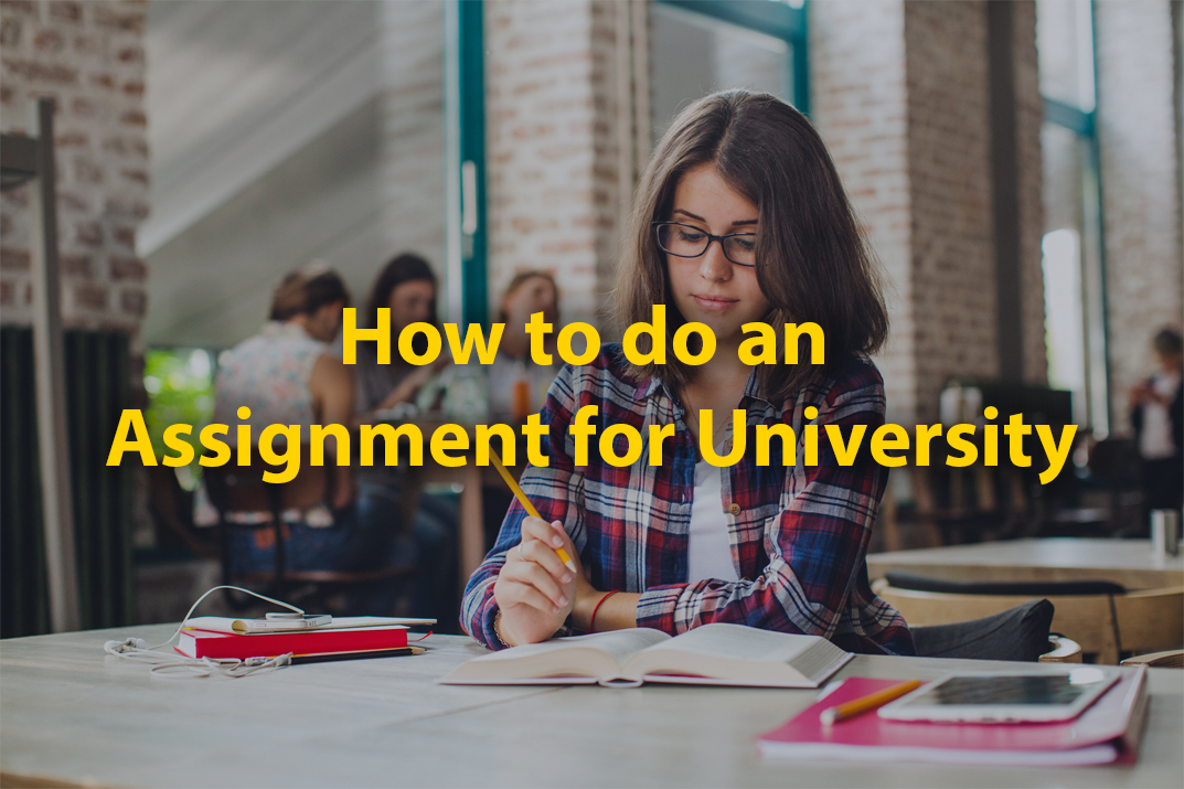 How to do an Assignment for University