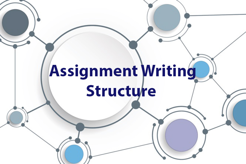 assignment writing structure